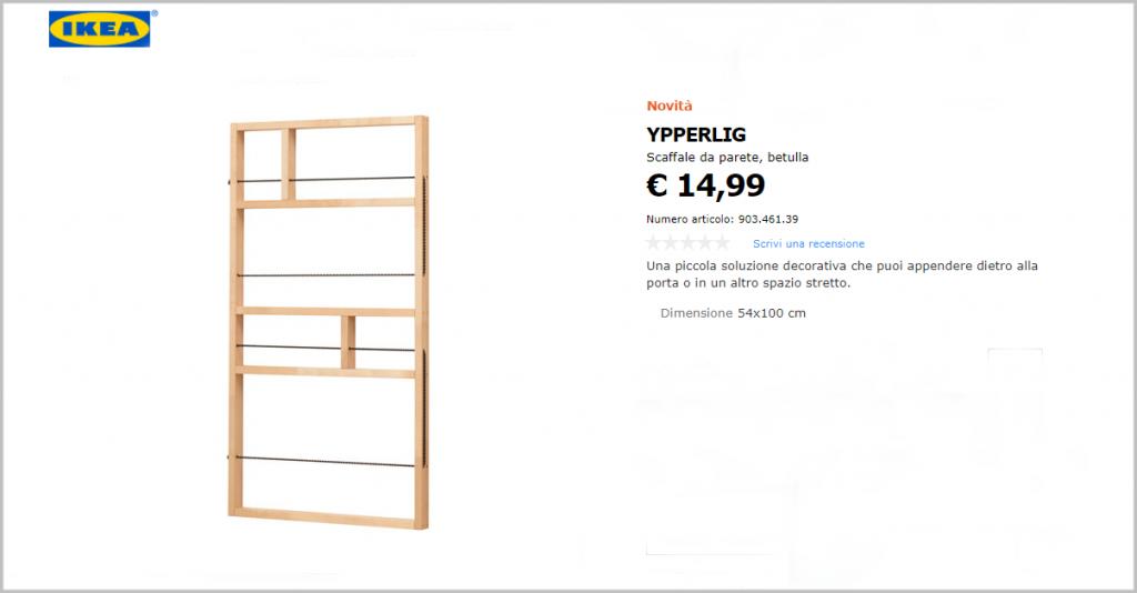 Scaffale Ypperlig Ikea
