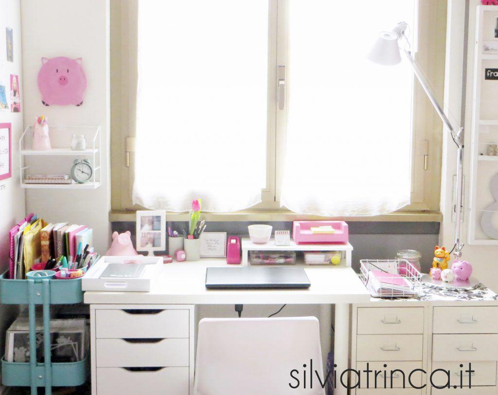 organizzazione scrivania