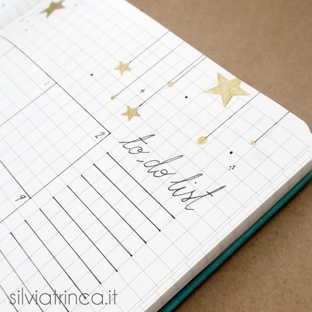 Bullet Journal - dettaglio to do list dicembre 2018