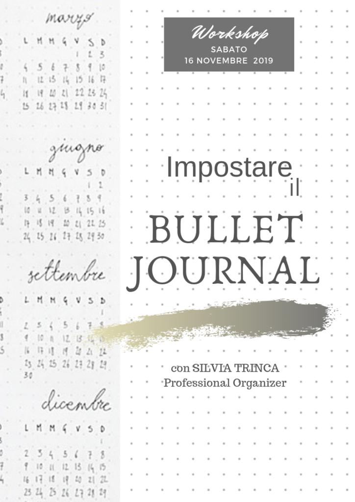 Corso Bullet Journal Seveso