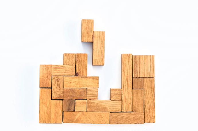 Organizzare o giocare a Tetris